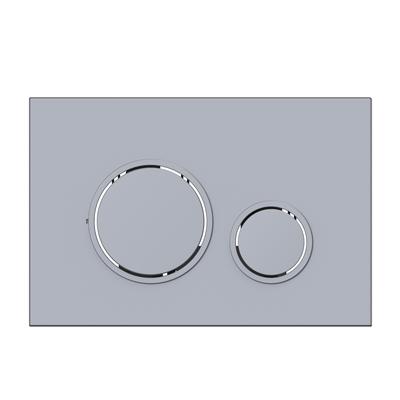 P47 Mat Krom (Metal Kaplama) Kumanda Paneli