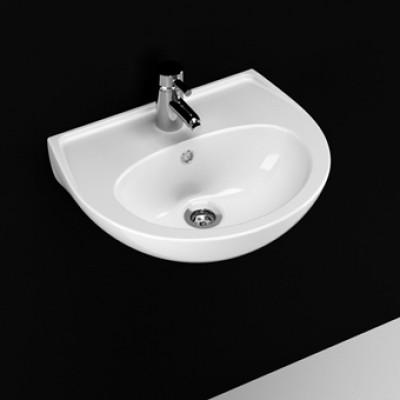 40 x 50 cm Oval Lavabo